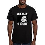 Obama 2008: Obama O eight Men's Fitted T-Shirt (da