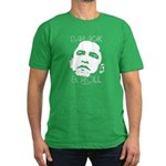Obama 2008: Barack & Roll Men's Fitted T-Shirt (da