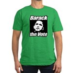 Barack the vote Men's Fitted T-Shirt (dark)