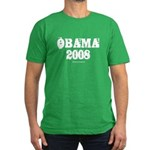 Vintage Obama 2008 Men's Fitted T-Shirt (dark)