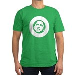 Obama 2008: O Men's Fitted T-Shirt (dark)
