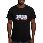 Stephen Colbert 2008 Men's Fitted T-Shirt (dark)