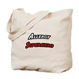 """Allergy Superhero"" Tote Bag"