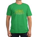 Forever Green Men's Fitted T-Shirt (dark)