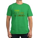The Future is Green Men's Fitted T-Shirt (dark)