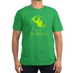 Earth Day T-shirts Men's Fitted T-Shirt (dark)