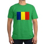 Armenia Flag Men's Fitted T-Shirt (dark)