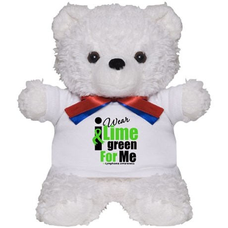 I Wear Lime Green For Me Teddy Bear