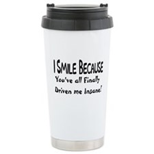 FINALLY INSANE Ceramic Travel Mug