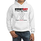 LungCancer MissMyMother Jumper Hoody