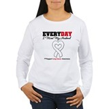 LungCancer MissMyHusband T-Shirt