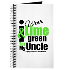 I Wear Lime Green For My Uncle Journal