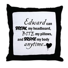 Edward's Throw Pillow
