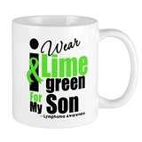 I Wear Lime Green For Son Mug
