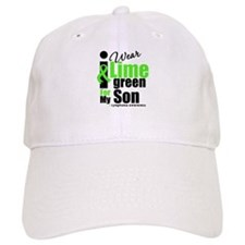 I Wear Lime Green For Son Baseball Cap