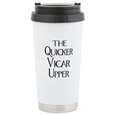 The Quicker Vicar Upper Ceramic Travel Mug
