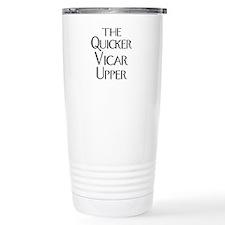 The Quicker Vicar Upper Travel Mug