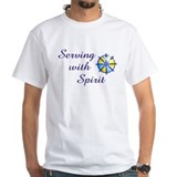 Serving with Spirit  Shirt