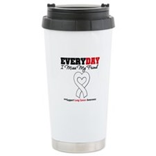 LungCancer MissMyFriend Ceramic Travel Mug