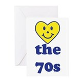 Love 70s Greeting Cards (Pk of 10)