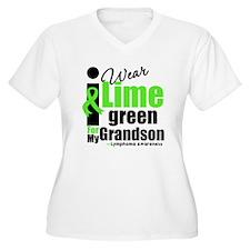 I Wear Lime Green For Grandson T-Shirt