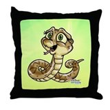 Baby Snake Throw Pillow