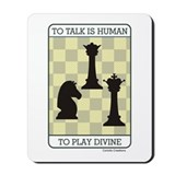 Divine Chess - Mousepad