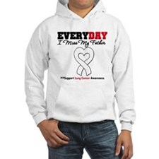 LungCancer Father Hoodie