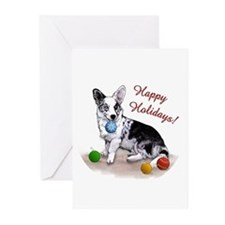 Cardigan Welsh Corgi Holiday Greeting Cards (10pk)