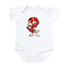 Baby Scarlett Macaw Infant Bodysuit