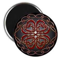 "Celtic Knot Hearts 2.25"" Magnet (10 pack)"
