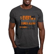 HERO Comes Along 1 Dad LEUKEMIA T-Shirt