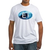 EI Emerald Isle, NC Beach Oval Shirt