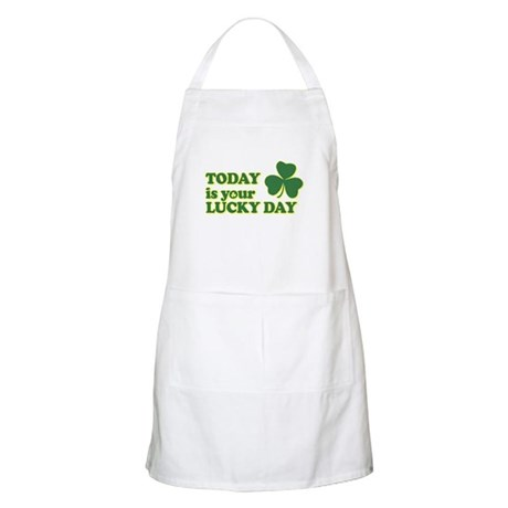 Today Is Your Lucky Day BBQ Apron