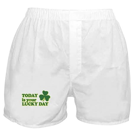 Today Is Your Lucky Day Boxer Shorts