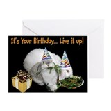 Lop Bunny Birthday Greeting Card