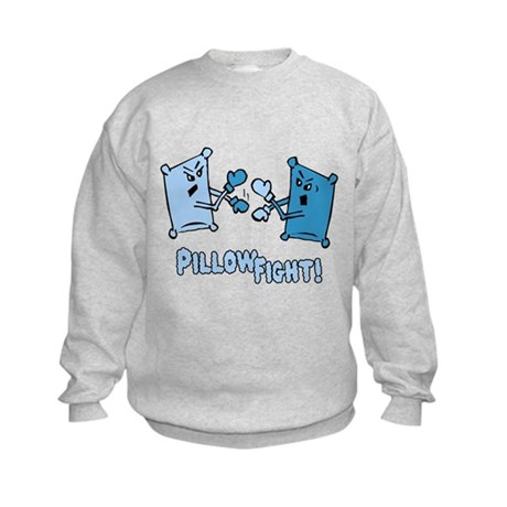 Pillow Fight Kids Sweatshirt