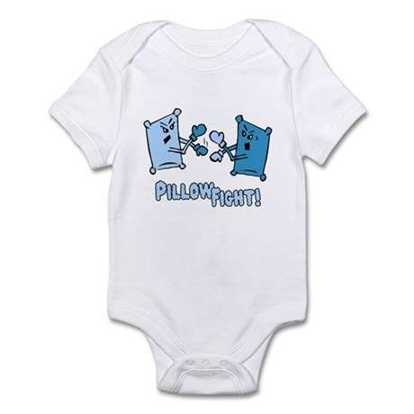 Pillow Fight Infant Bodysuit