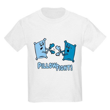 Pillow Fight Kids Light T-Shirt