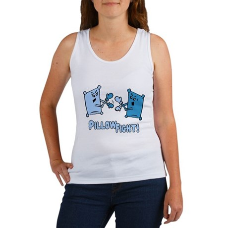 Pillow Fight Womens Tank Top