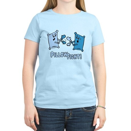 Pillow Fight Womens Light T-Shirt