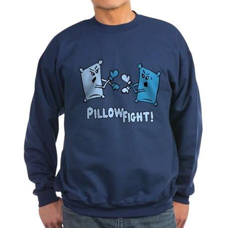 Pillow Fight Dark Sweatshirt