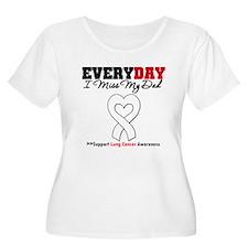 LungCancer MissMyDad T-Shirt
