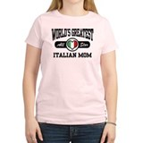 World's Greatest Italian Mom T-Shirt