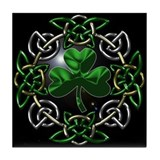 St. Patrick's Day Celtic Knot Tile Coaster
