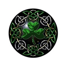 "St. Patrick's Day Celtic Knot 3.5"" Button (100 pac"