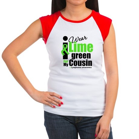 I Wear Lime Green Cousin Women's Cap Sleeve T-Shir
