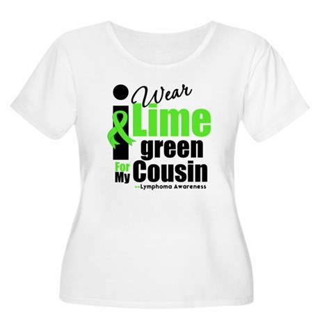 I Wear Lime Green Cousin Women's Plus Size Scoop N