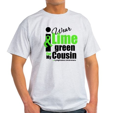 I Wear Lime Green Cousin Light T-Shirt
