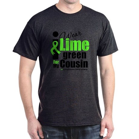 I Wear Lime Green Cousin Dark T-Shirt